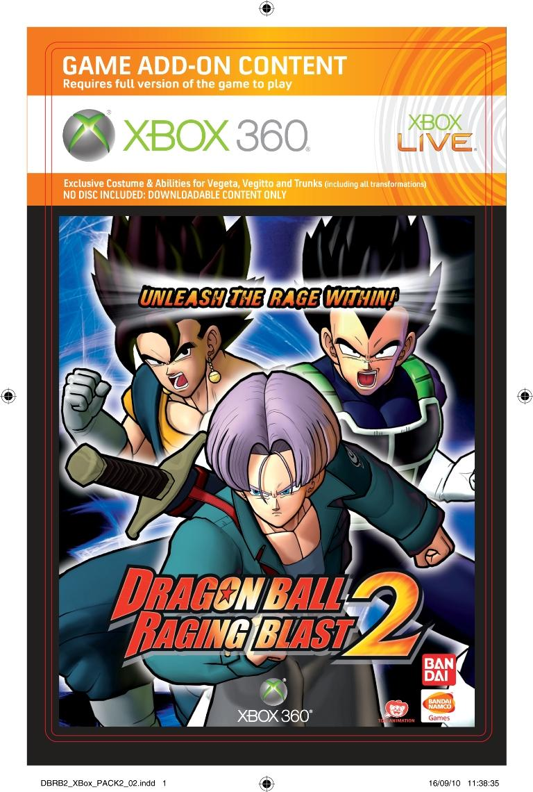 Packs De Prco Pour Dragon Ball Raging Blast 2 Xbox One