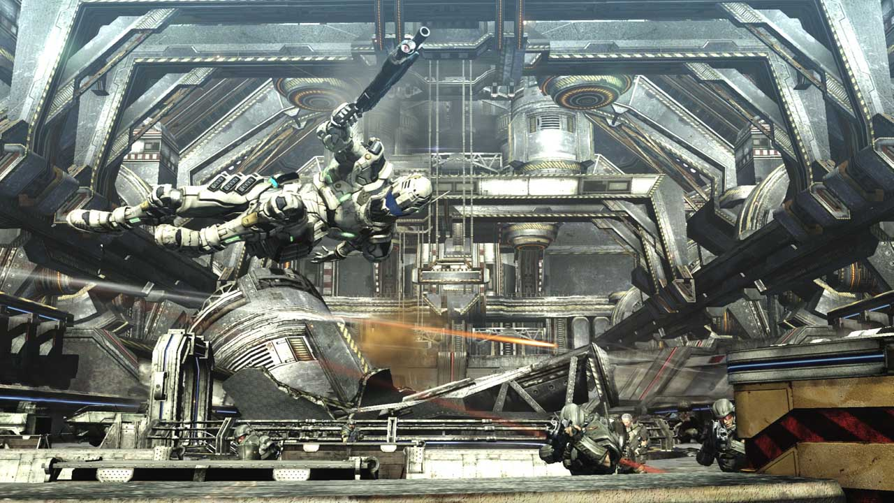 Le Plein Dimages Pour Vanquish Xbox One Xboxygen