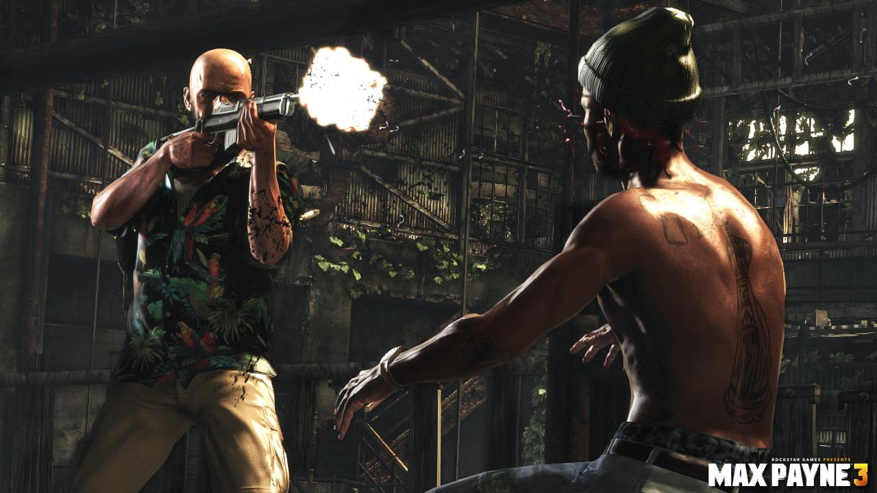 Les Armes De Max Payne 3 En Vido Xbox One Xboxygen