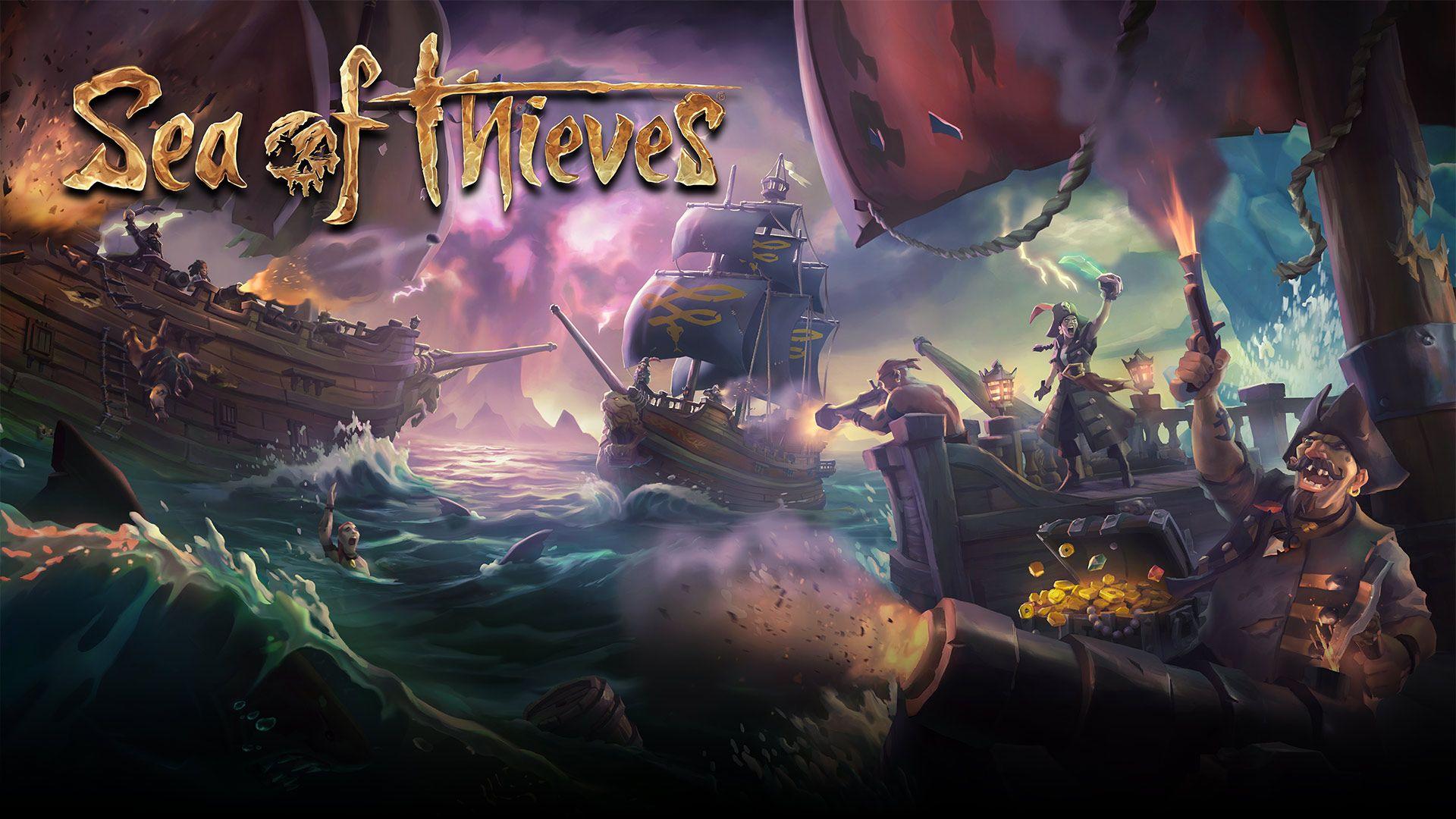 Un Fond Dcran Pour Sea Of Thieves Xbox One Xboxygen