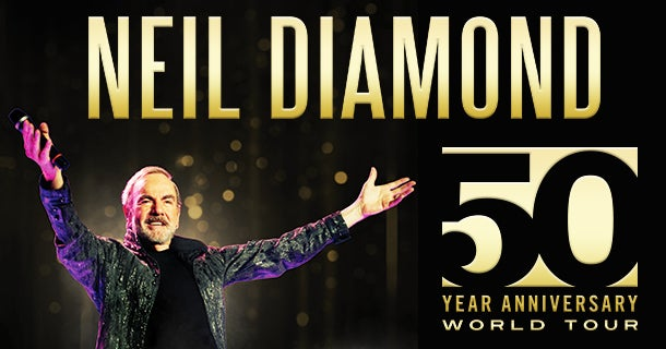 Image result for photos of neal diamonds 50th anniversary tour