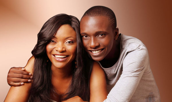 The Prominent Nigerian Journalist Aisha Falode and her son, Toba Falode