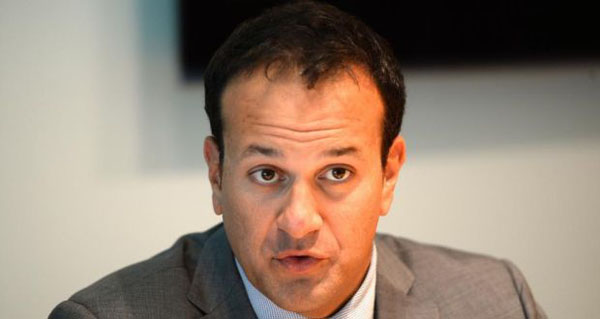 The Irish Minister for Health Leo Varadkar