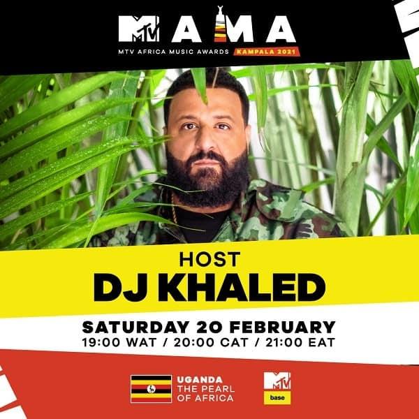 DJ Khaled Announced As MAMAs 2021 Host