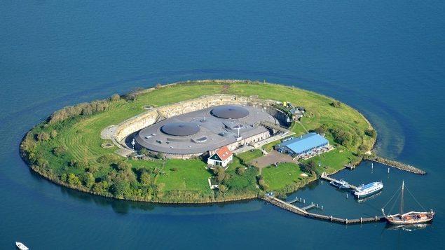 Fort island Pampus Amsterdam