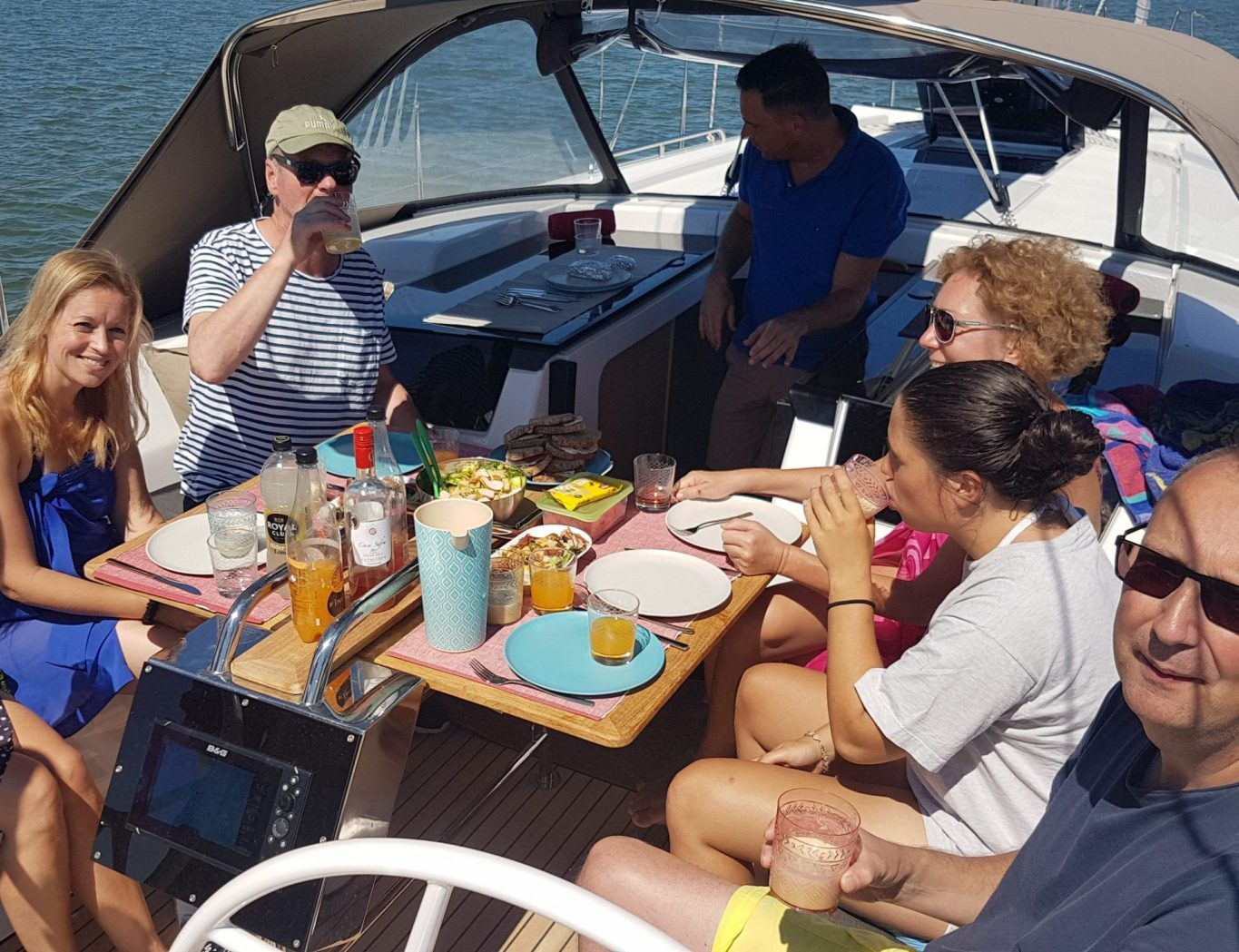 XclusiveSailing Lunch