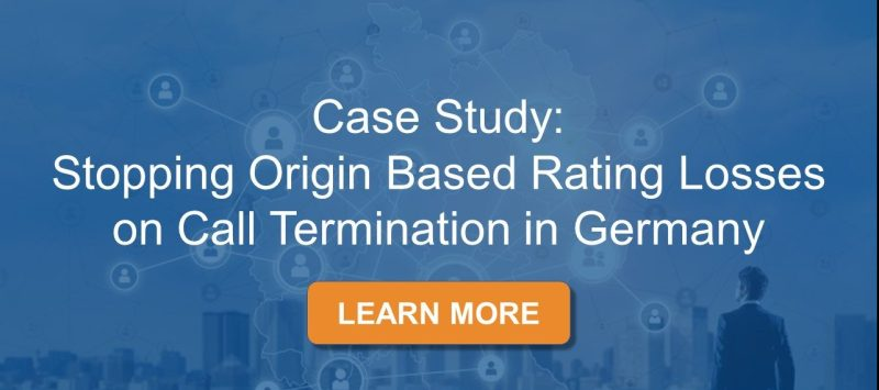 Stopping Origin Based Rating Losses on Call Termination in Germany