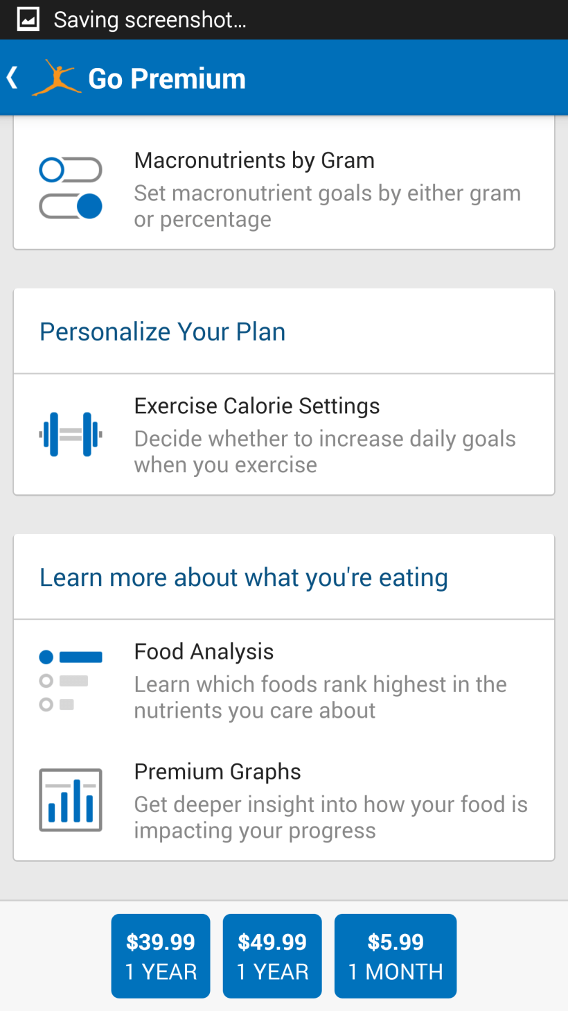 Myfitnesspal Premium | Amatfitness co