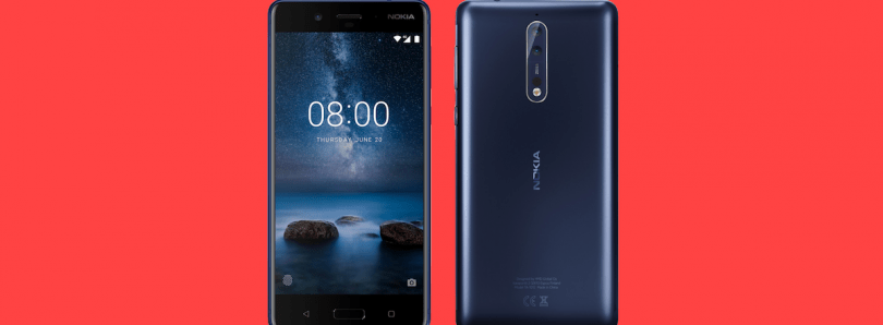 The Nokia 8 bootloader can now be unlocked