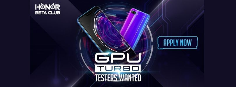 Honor is Recruiting Beta Testers for the GPU Turbo Update Coming to the Honor 10