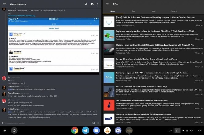 Chrome OS 70 for tablets