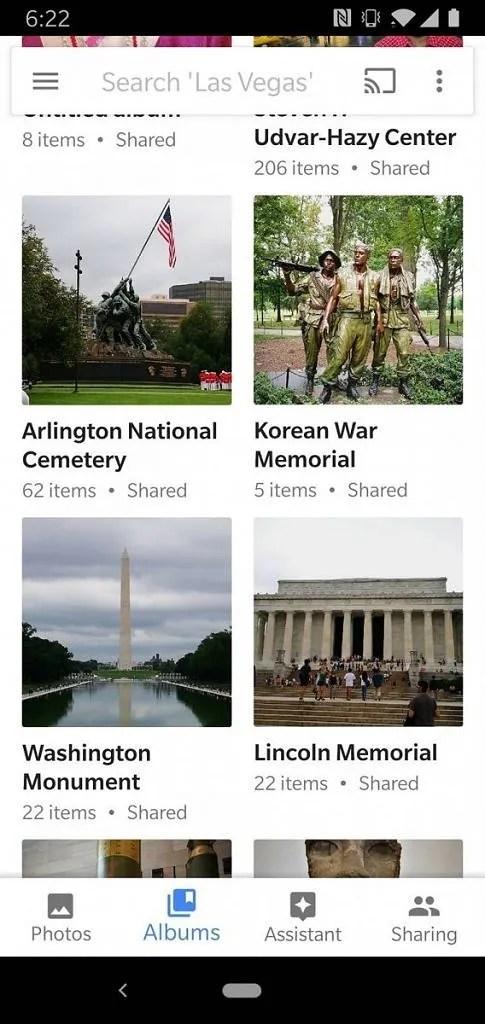 Google Photos Material Design 2