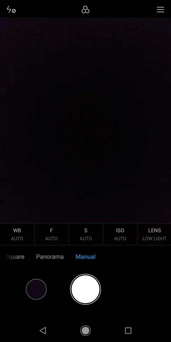 Xiaomi Mi A2 camera app manual mode