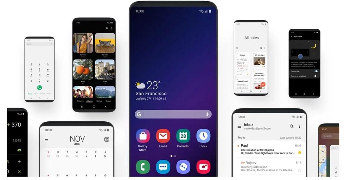 Samsung One UI adaptive battery galaxy note 9 galaxy s9