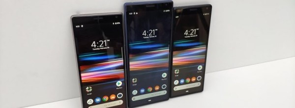 Sony Xperia 10/Plus Hands-on: the tallest phones at MWC
