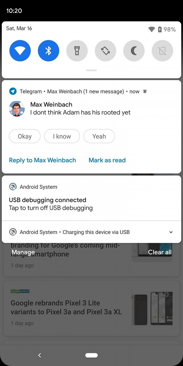 Notification Assistants in Android Q can change the priority