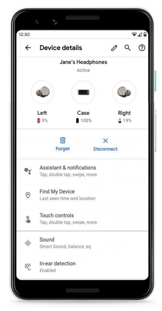 Android Q new Bluetooth settings