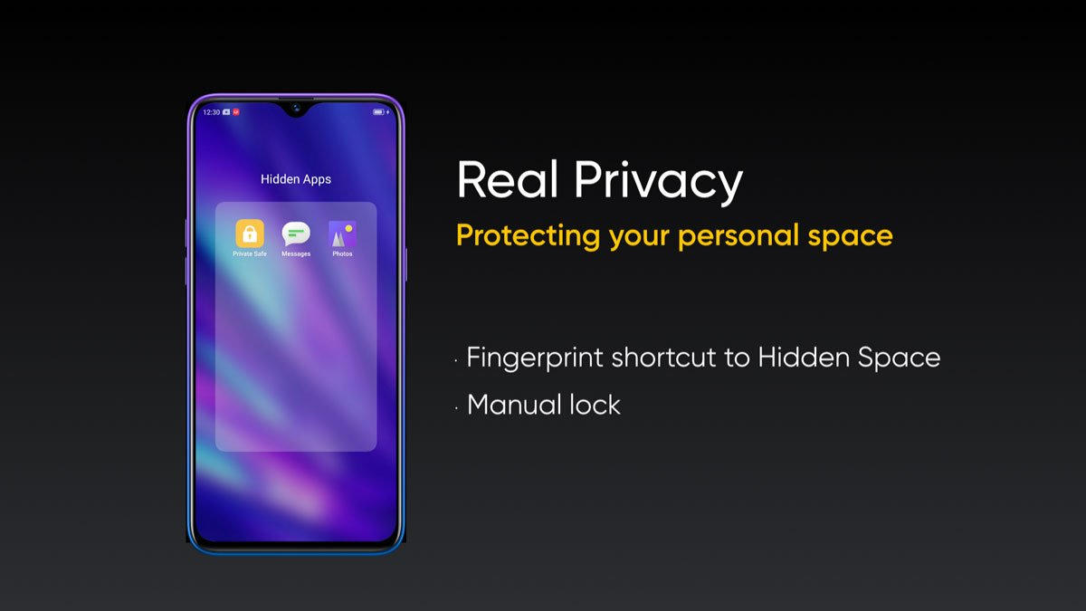 All Realme phones, including Realme 1, will have the same