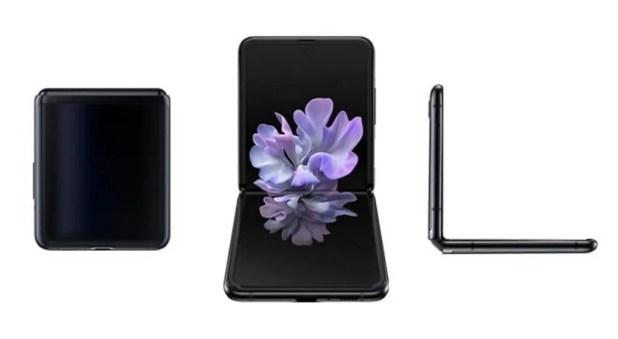 Samsung Galaxy Z Flip pliable