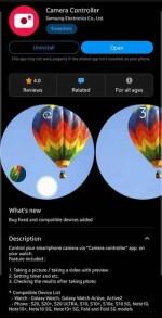 Tech :  Galaxy S9, Note 9, Z Flip]Samsung Camera Controller vous permet de prendre des photos du Galaxy S20 à l'aide de votre Galaxy Watch  infos , tests