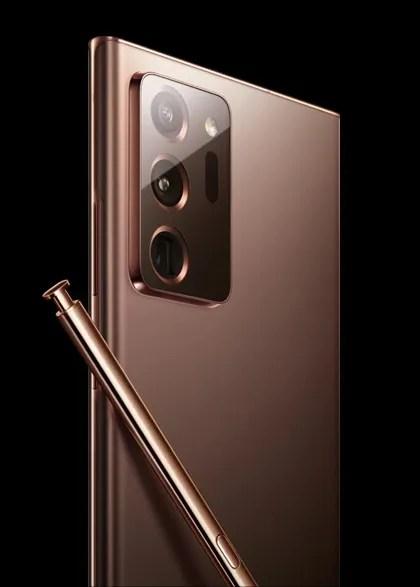 Samsung Galaxy Note 20 Ultra in Mystic Bronze