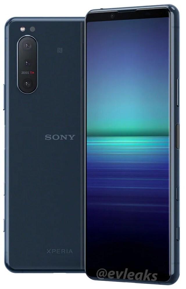 Sony Xperia 5 II leaked render