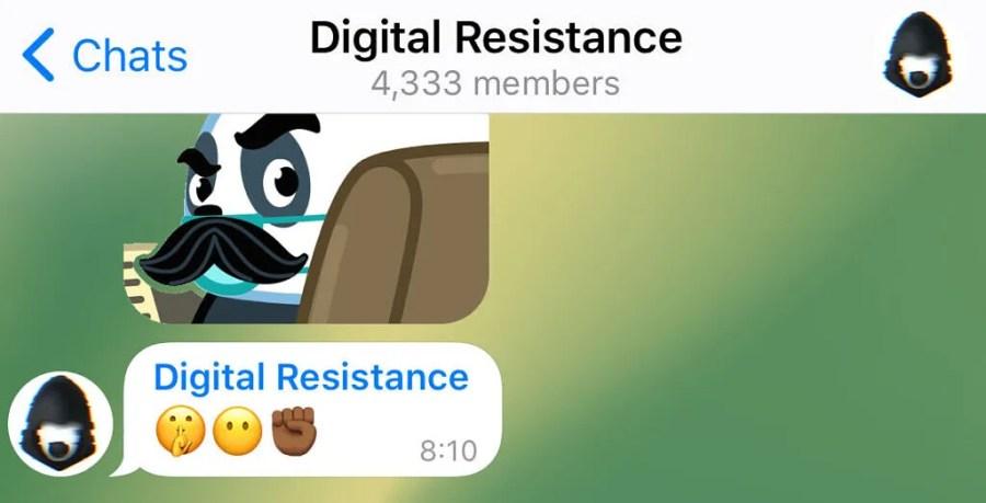 Telegram Anonymous Admin