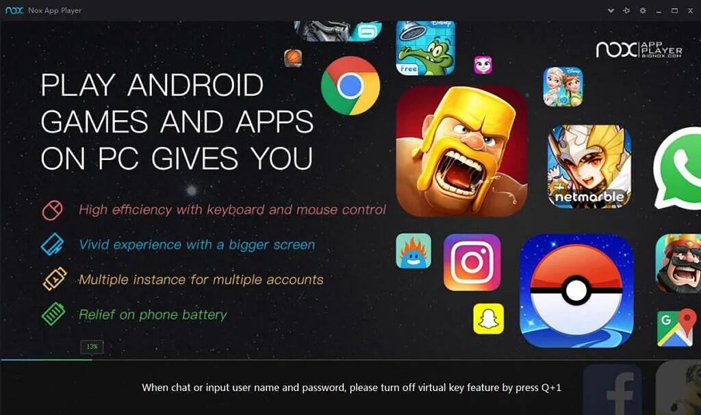 nox android emulator pubg mobile