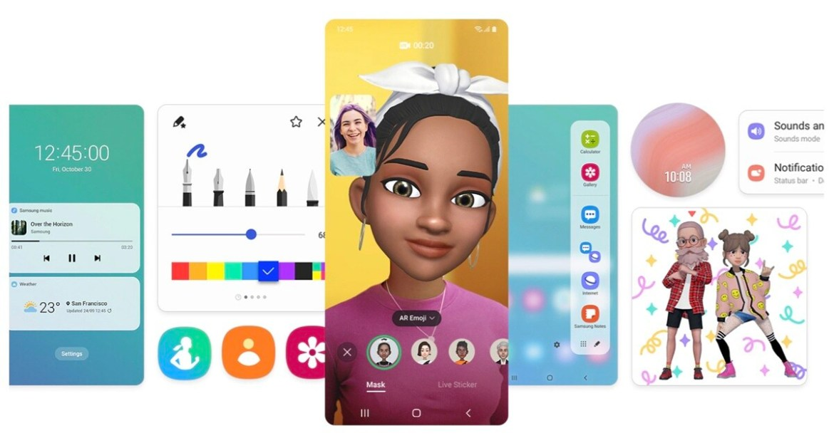 Samsung highlights new features in One UI 3.0 based on Android 11