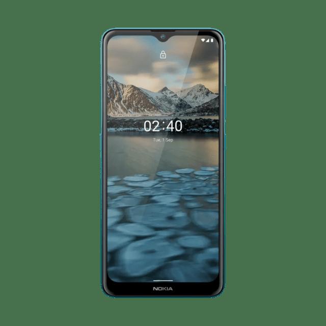 hmd global nokia 2-4 charcoal fjord dusk
