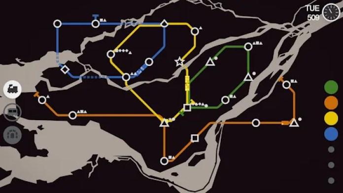 Mini Metro Best Android Games