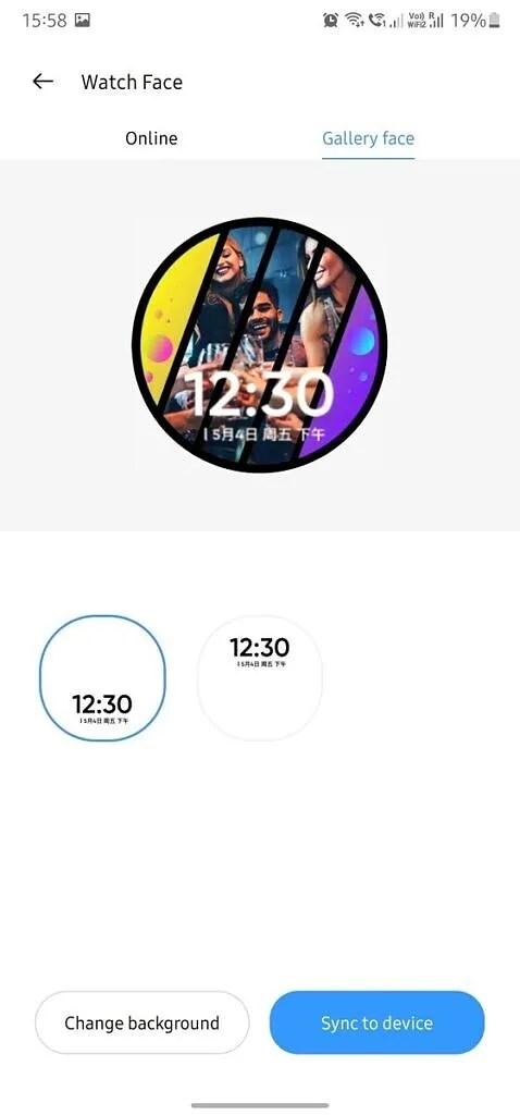 Realme Link app watch faces