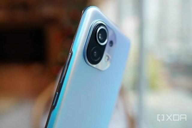 Xiaomi Mi 11 buttons