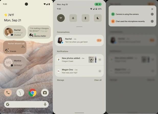 تسريبات تكشف عن نظام التشغيل Android 12