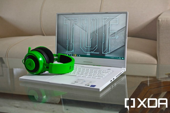 ASUS TUF Dash F15 Review: Balancing portablity with performance