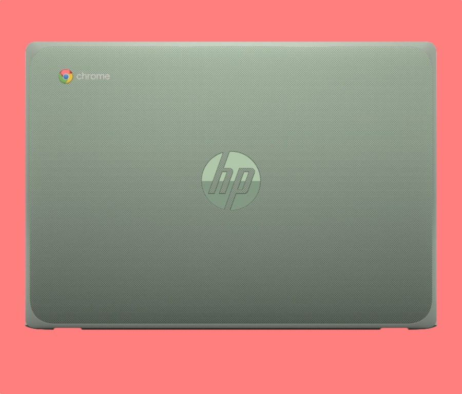 HP Chromebook 11 G8 in army green