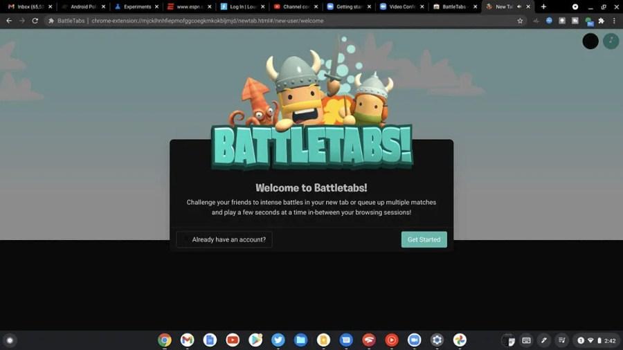 BattleTabs Chrome OS