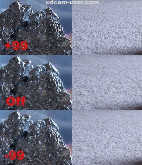 PMW-350-Aperture PMW-350 Aperture Correction what is it doing?