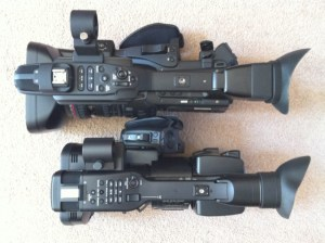 side-by-side-300x224 Canon XF305 Review with sample footage.