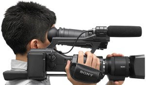 sony-nex-1-300x175 New Sony NEX-EA50EH shoulder mount 35mm camcorder. Power Zoom lens for FS100 and FS700