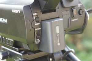 PXW-X70 auto/manual switch.