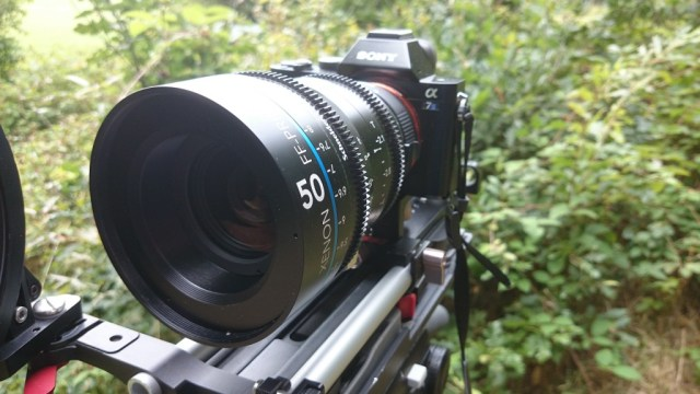 Schneider Xenon 50mm FF lens on the Sony A7s