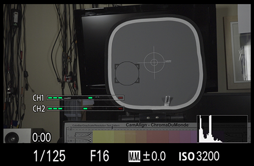 Using Spot Metering to set exposure correctly for S-log2. MM 0.0.