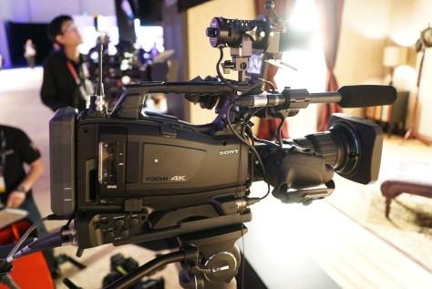 """DSC00647-1024x684 News from NAB - Sony PXW-Z450. 4K, 2/3"""" shoulder cam, X400 to get 4K option."""