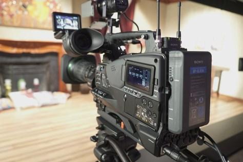 """DSC00656-1024x684 News from NAB - Sony PXW-Z450. 4K, 2/3"""" shoulder cam, X400 to get 4K option."""