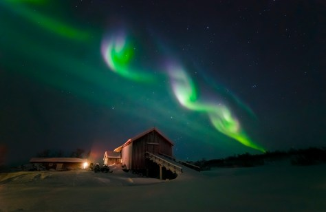 Over-barn-vibrant-1024x665 Norway and the Northern Lights 2018.