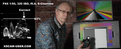 FX6-s-cinetone-scopes-copy Which Sony ISO RatingS Are Correct?