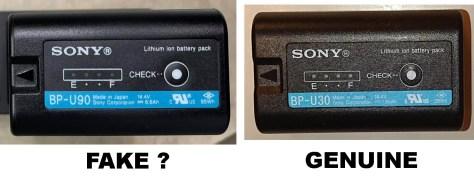 Fake-real-bpu-600x225 Beware Fake Sony BP-U Batteries!