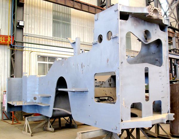 Steel Fabrication for Construction Equipment in China   XDL