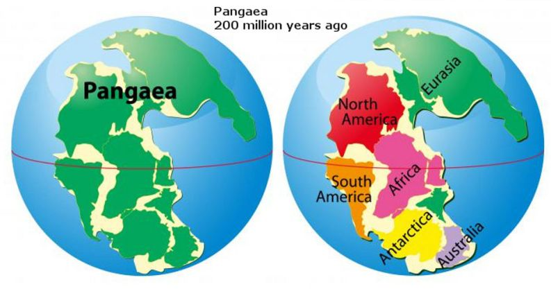 Amazing Facts About Prehistoric Super Continents Business Mens - List of continents in the world